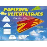 Meer informatie over Papieren vliegtuigjes vouwen boek
