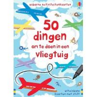 Meer informatie over 50 dingen doen in een vliegtuig - activiteitenkaarten