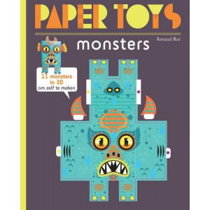 Paper Toys Monsters